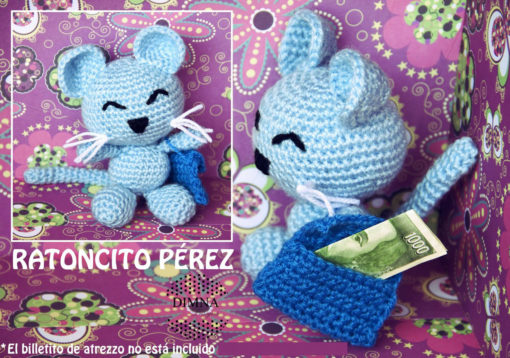 ratoncito perez para dejar los dientes diseñada por dimnadesigns.com