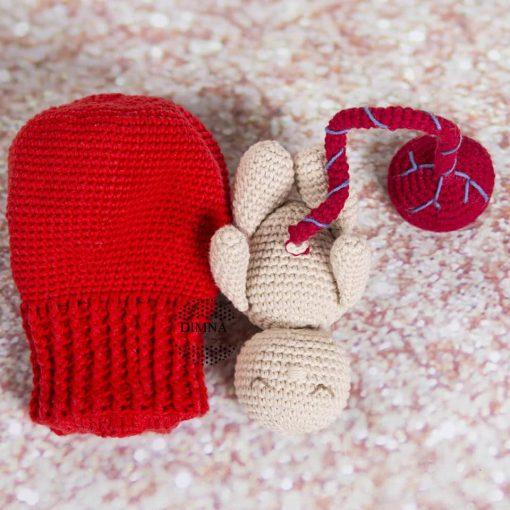 utero bebe y placenta ganchillo DimnaDesigns