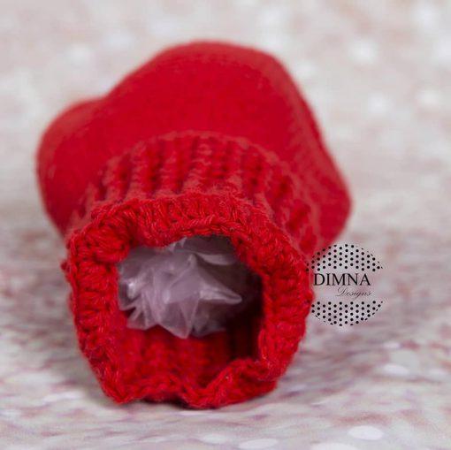 útero ganchillo tejido por Dimna Designs