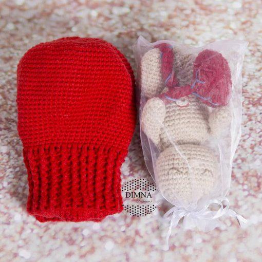 bebé y útero ganchillo tejido por Dimna Designs