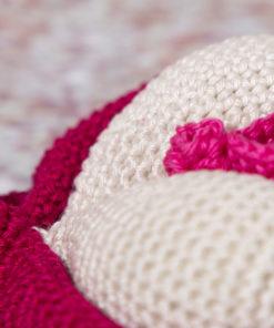 clítoris amigurumi a crochet