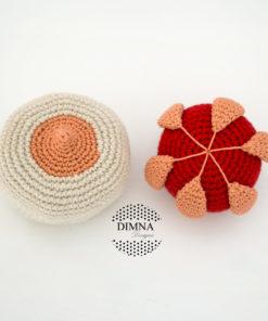 glándula mamaria ganchillo crochê amigurumi Dimna Designs