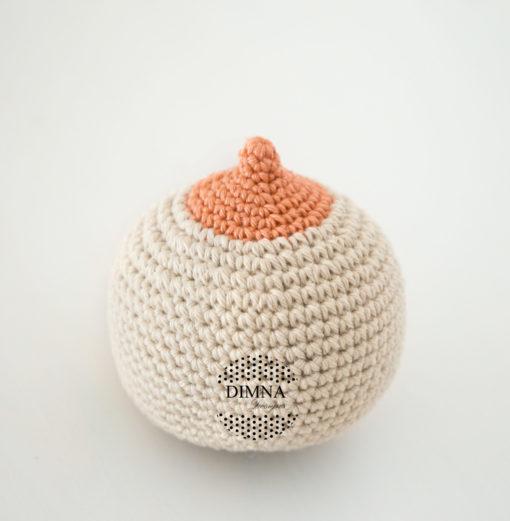 Dimna Designs teta ganchillo-crochê