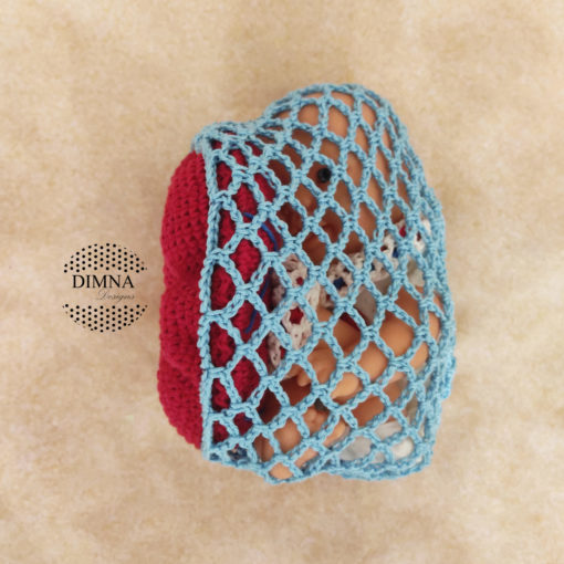 Placenta tamaño estándar con cordón y red a modo de saco amniótico de dimnadesigns.com